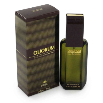 QUORUM by Antonio Puig Eau De Toilette Spray 1 oz for Men