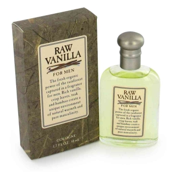 RAW VANILLA by Coty Cologne 1.7 oz for Men