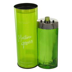 Montana Green by Montana Eau De Toilette Spray 3.4 oz for Men
