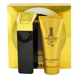 1 Million by Paco Rabanne Gift Set -- 3.4 oz Eau De Toilette Spray + 3.4 oz Shower Gel for Men