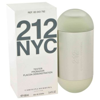 212 NYC by Carolina Herrera Eau De Toilette Spray (Tester) 3.4 oz for Women