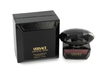 Crystal Noir by Versace Gift Set -- 3 oz Eau De Toilette Spray + 3.4 oz Body Lotion with Two Free Bags for Women