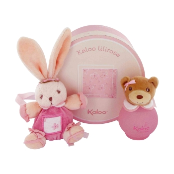 kaloo lilirose by Kaloo Eau De Toilette Spray (alcohol free) with Plush Bunnies 3.4 oz for Women