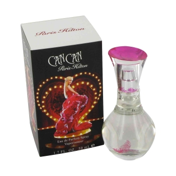 Can Can by Paris Hilton Gift Set -- 3.4 oz Eau De Parfum Spray + 3 oz Body Lotion + 1 oz Eau De Parfum Spray + .2 oz EDP Pen Roll-On for Women