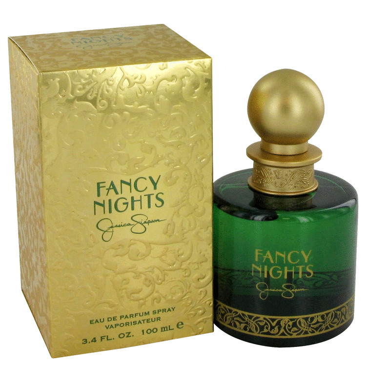 Fancy Nights by Jessica Simpson Gift Set -- 3.4 oz Eau De Parfum Spray + 3 oz Shower Gel + 3 oz Body Lotion for Women