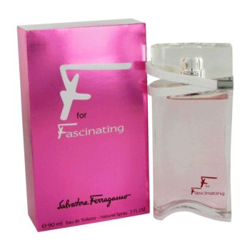 F for Fascinating by Salvatore Ferragamo Eau De Toilette Spray 1.7 oz for Women