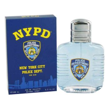 NYPD by Parfum Beaute Eau De Toilette Spray 3.3 oz for Men