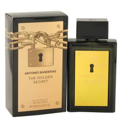 The Golden Secret by Antonio Banderas Eau De Toilette Spray 1.7 oz for Men