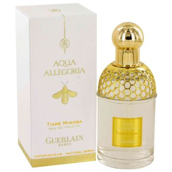 AQUA ALLEGORIA Tiare Mimosa by Guerlain Eau De Toilette spray 2.5 oz for Women