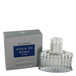 Aqua Di Roma by Laura Biagiotti After Shave 2.5 oz for Men