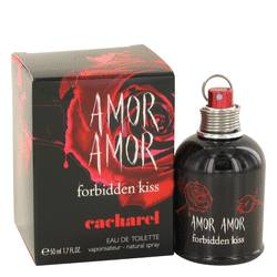 Amor Amor Forbidden Kiss by Cacharel Eau De Toilette Spray 1.7 oz for Women