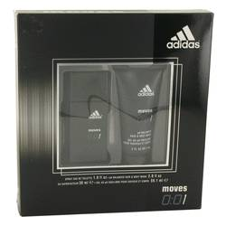 Adidas Moves 001 by Adidas Gift Set -- 1 oz Eau De Toilette Spray + 2 oz Hair & Body Wash for Men