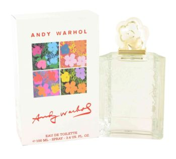 Andy Warhol by Andy Warhol Eau De Toilette Spray 3.4 oz for Women