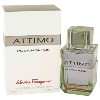 Attimo by Salvatore Ferragamo Eau De Toilette Spray 3.4 oz for Men