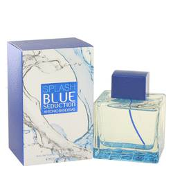 Splash Blue Seduction by Antonio Banderas Eau De Toilette Spray 3.4 oz for Men