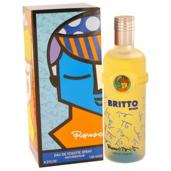 Britto by Romeo Britto Eau De Toilette Spray 4.2 oz for Men
