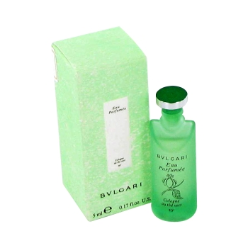59c7a3a0dd0 BVLGARI EAU PaRFUMEE (Green Tea) by Bvlgari Mini EDC .17 oz for Men