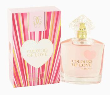 Colours of Love by Guerlain Eau De Toilette Spray 1.7 oz for Women
