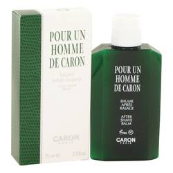 CARON Pour Homme by Caron After Shave Balm 2.5 oz for Men