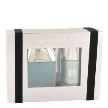 Chrome Sport by Azzaro Gift Set -- 1.7 oz Eau De Toilette Spray + 2.6 oz Deodorant Stick for Men