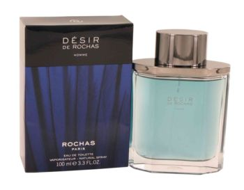 Desir De Rochas by Rochas Eau De Toilette Spray 3.3 oz for Men