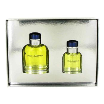 DOLCE & GABBANA by Dolce & Gabbana Gift Set -- 4.2 oz Eau De Toilette Spray + 1.3 oz Eau De Toilette Spray for Men