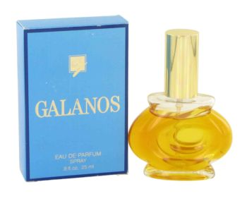 Galanos by Galanos Eau De Parfum Spray (Blue Box) .8 oz for Women