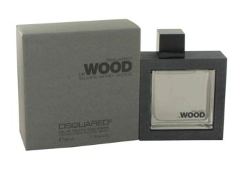 He Wood Silver Wind Wood by Dsquared2 Eau De Toilette Spray 1.7 oz for Men