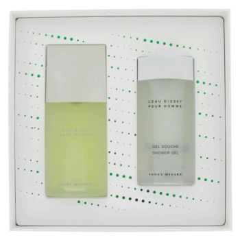 L'EAU D'ISSEY (issey Miyake) by Issey Miyake Gift Set -- 2.5 oz Eau De Toilette Spray +2.5 oz Shower Gel for Men