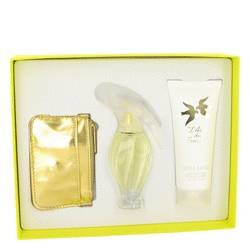 L'AIR DU TEMPS by Nina Ricci Gift Set -- 1.7 oz Eau De Toilette Spray with Bird Cap + 3.3 oz Body Lotion + Cosmetic Bag for Women