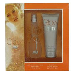 Glow by Jennifer Lopez Gift Set -- 1 oz Eau De Toilette Spray + 2.5 oz Body Lotion for Women