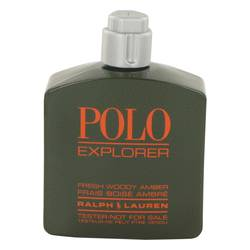 Polo Explorer by Ralph Lauren Eau De Toilette Spray (Tester) 4.2 oz for Men