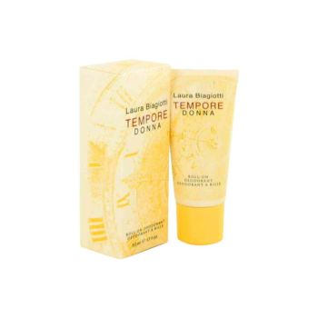 TEMPORE DONNA by Laura Biagiotti Deodorant Roll-On 1.7 oz for Women