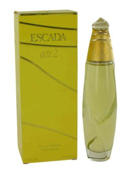 ACTE 2 by Escada Eau De Parfum Spray (Damaged Box) 3.4 oz for Women