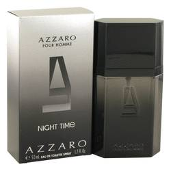 Azzaro Night Time by Loris Azzaro Eau De Toilette Spray 1.7 oz for Men