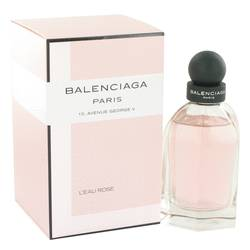 Balenciaga Paris L'eau Rose by Balenciaga Eau De Toilette Spray 2.5 oz for Women