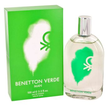 Benetton Verde by Benetton Eau De Toilette Spray 3.3 oz for Men
