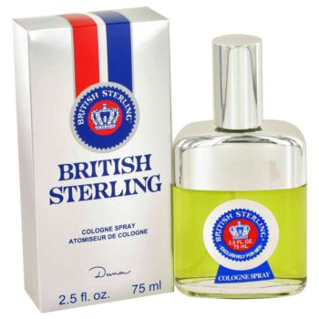 BRITISH STERLING by Dana Cologne Spray 2.5 oz for Men