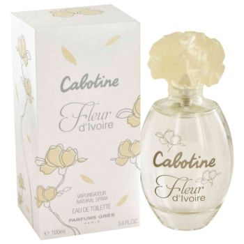 Cabotine Fleur d'Ivoire by Parfums Gres Eau De Toilette Spray 3.4 oz for Women