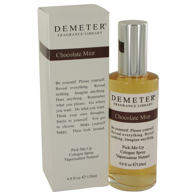 Demeter by Demeter Chocolate Mint Cologne Spray 4 oz for Women