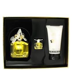 Daisy by Marc Jacobs Gift Set -- 3.4 oz Eau De Toilette Spray + 5.1 oz Body Lotion + .13 oz Mini EDT for Women