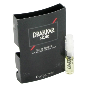 DRAKKAR NOIR by Guy Laroche Vial (sample) .04 oz for Men