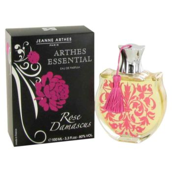 Essential Rose Damascus by Jeanne Arthes Eau De Parfum Spray 3.3 oz for Women