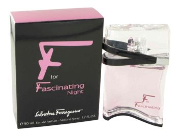 F for Faschinating Night by Salvatore Ferragamo Eau De Parfum Spray 1.7 oz for Women
