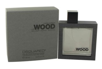 He Wood Silver Wind Wood by Dsquared2 Eau De Toilette Spray 3.4 oz for Men