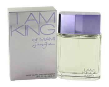 I Am King of Miami by Sean John Eau De Toilette Spray 3.4 oz for Men
