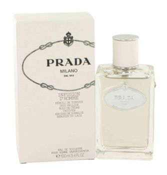 Infusion d'Homme by Prada Eau De Toilette Spray 3.4 oz for Men