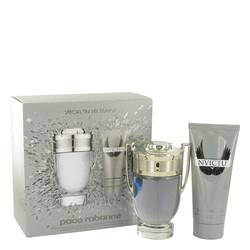 Invictus by Paco Rabanne Gift Set -- 3.4 oz Eau De Toilette Spray + 3.4 oz Shower Gel for Men