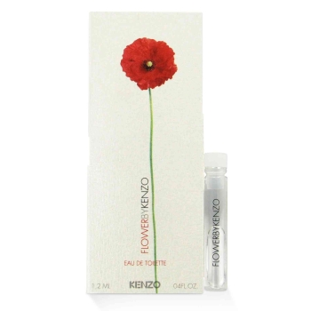 kenzo FLOWER by Kenzo EDT Vial (sample) .05 oz for Women