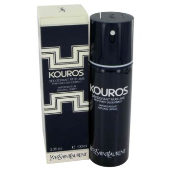 KOUROS by Yves Saint Laurent Deodorant Spray 3.4 oz for Men